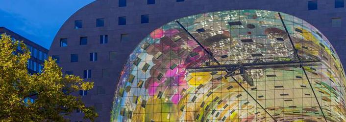 Rotterdam Markthal, arch:  MVRDV, IBS facade engineers